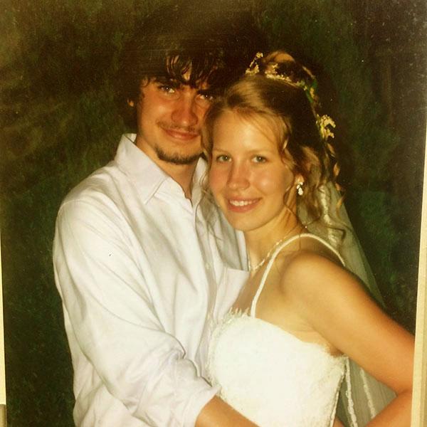 Image of Dr. Emily Thomas wedding picture with husband Tony