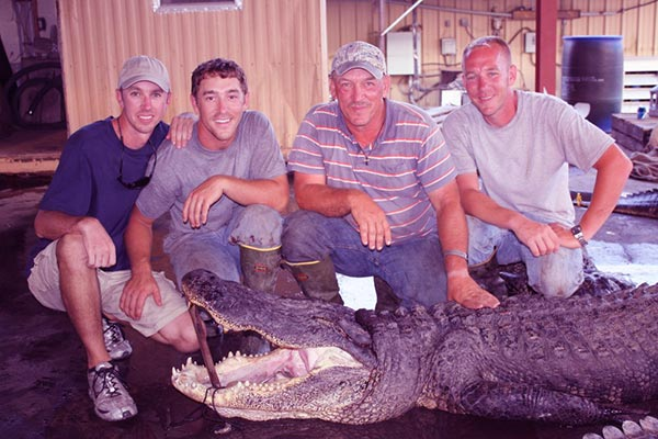 Image of Troy Landry with sons Jacob and Chase