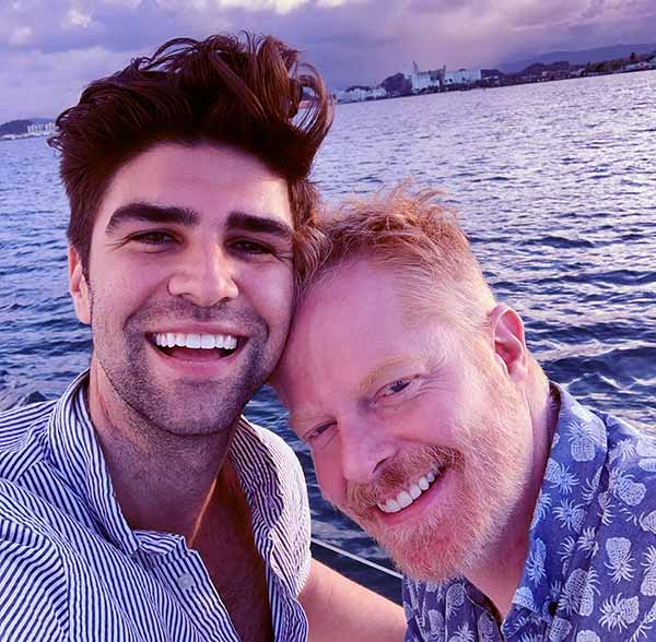Image of Jesse Tyler Ferguson and Justin Mikita got married at a ceremony in downtown New York City in 2013