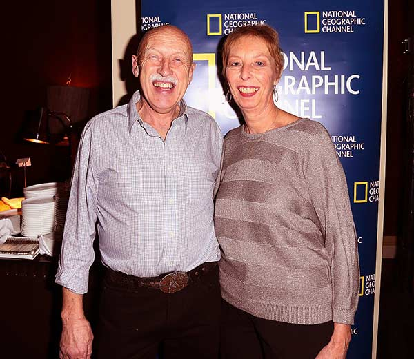 Image of Dr. Jan Pol with wife Diane Pol