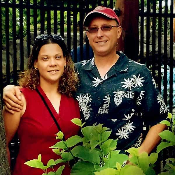 Image of Kathy Pol with husband Gregory Butch