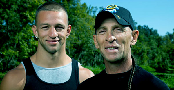 Image of RJ Molinere with son, Jay Paul Molinere
