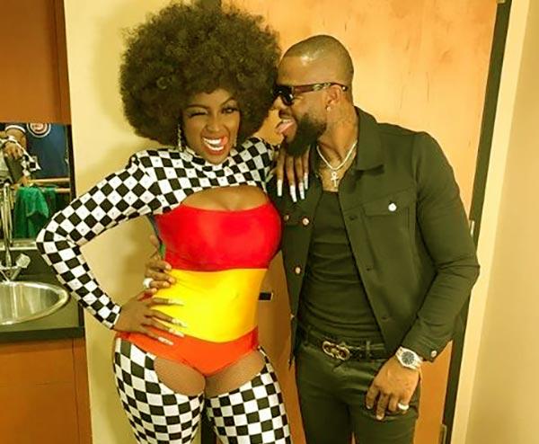 Image of Amara Le Negra dating boyfriend EmJay Johnson