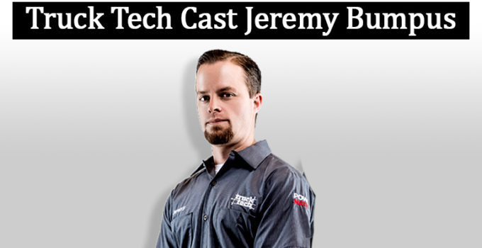 Image of Why Jeremy Bumpus Left Truck Tech? See his Married & Family Life