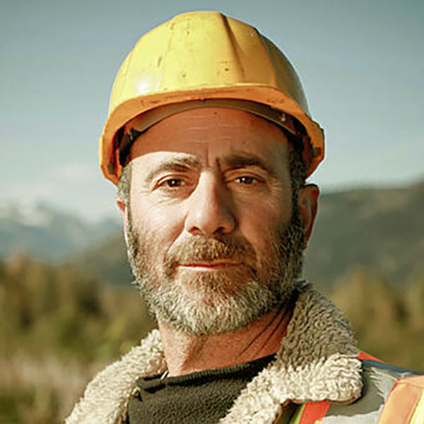 Image of Chris Doumitt, an actor of the American reality show, Gold Rush