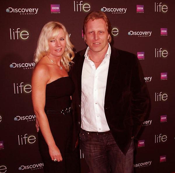 Image of June Hansen with her husband, Sig Hansen