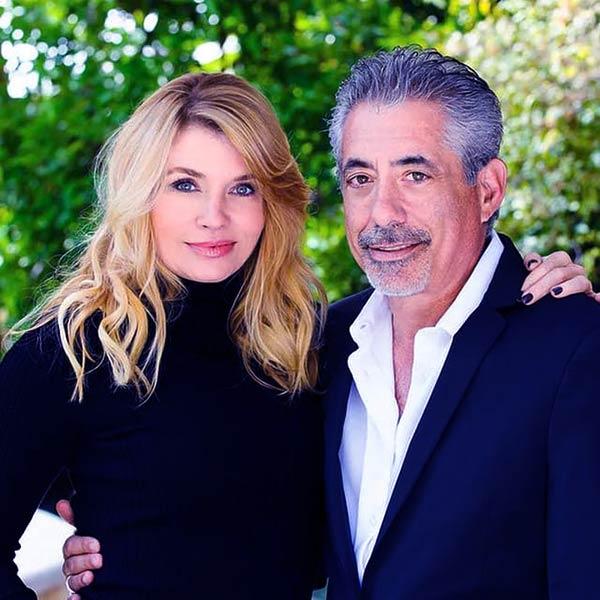 Image of Carter Belfort's parents, Nadine Caridi and Jordan Belfort