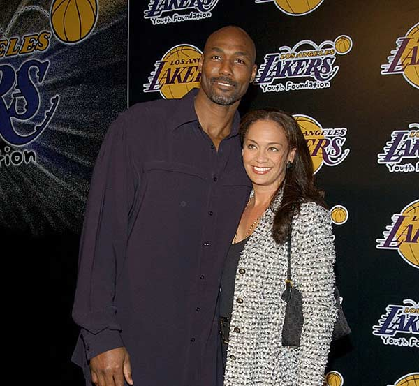 Image of Kay Kinsey with her husband, Karl Malone