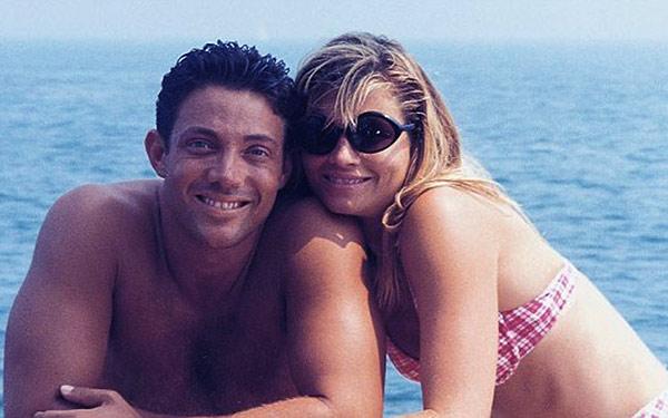 Image of Nadine and her ex-husband, Jordan Belfort