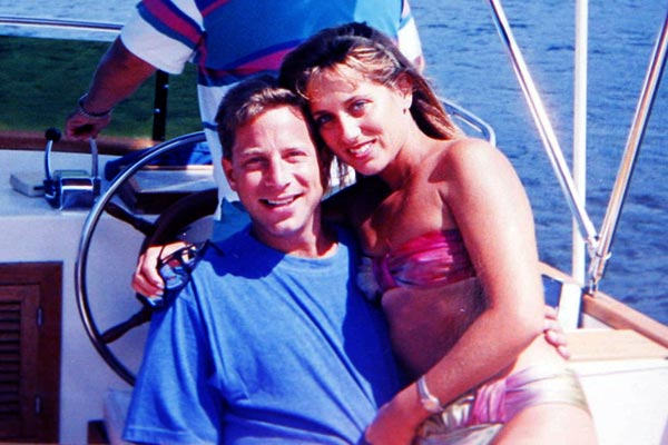 Image of Densie Lombardo with her ex-husband Jordan Belfort