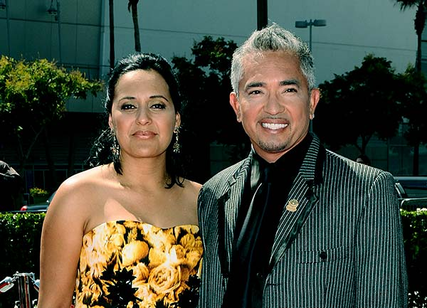 Image of Ilusion and her ex-husband, Cesar Millan