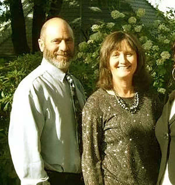 Image of Chris Doumitt and his wife, Sharon Doumitt
