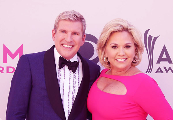 Image of Todd and Julie Chrisley attended the 52nd Academy of Country Music Awards heal at T-Mobile Arena in 2017, Las Vegas, Nevada