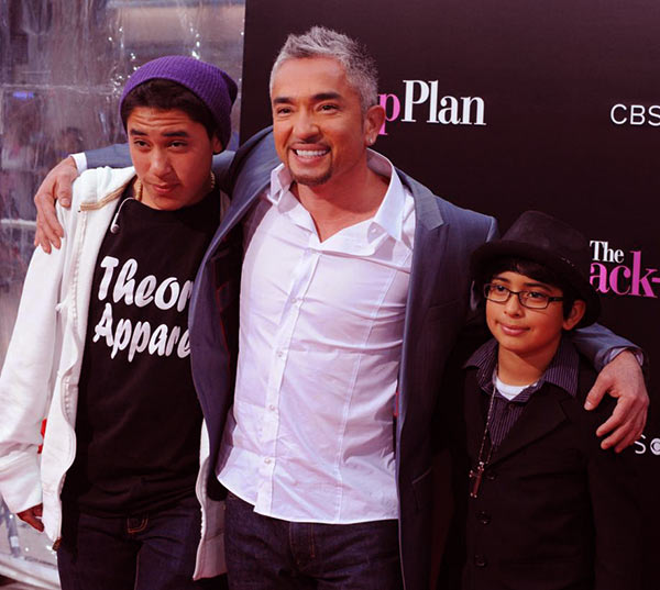 Image of Ilusion Millan's ex-husband and two sons
