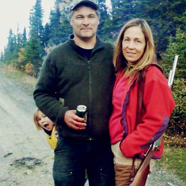 Image of Dr. Michelle Oakley with husband Shane Oakley