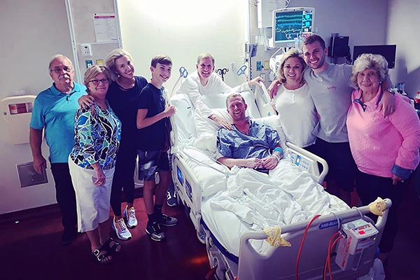 Image of Whilby's husband was hospitalized after he tried to take his own life