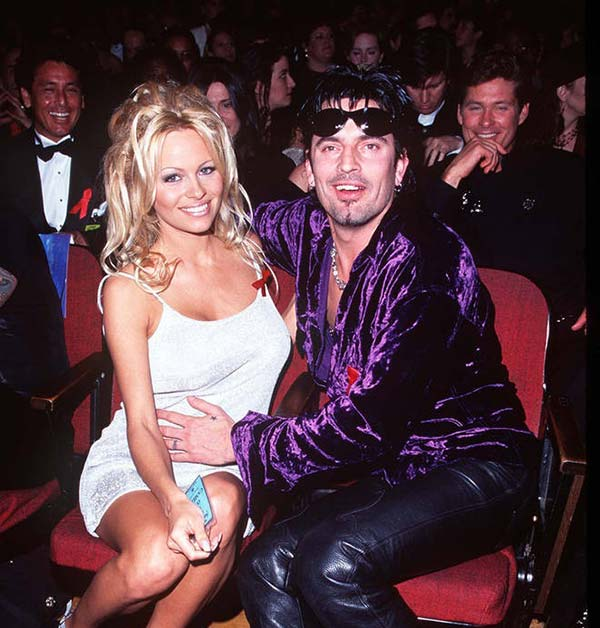 Image of Tommy Lee with Heather Locklear