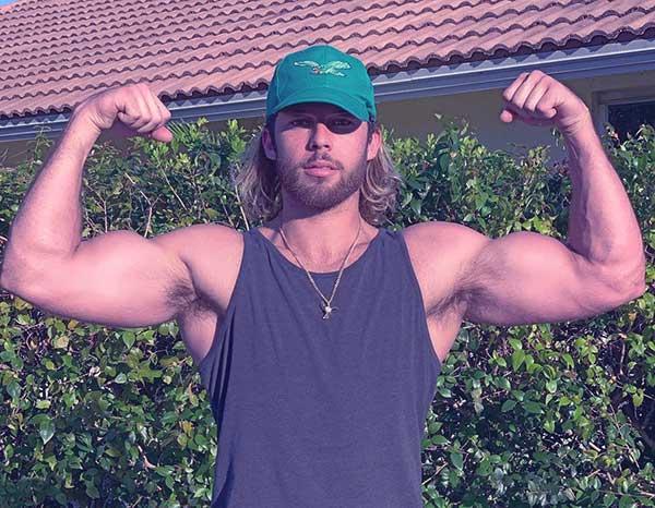 Image of Dusti Rain Van Winkle's boyfriend, J Kyle Christoffers
