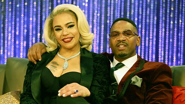 Image of Stevie J's married to wife Faith Evans' since 2018