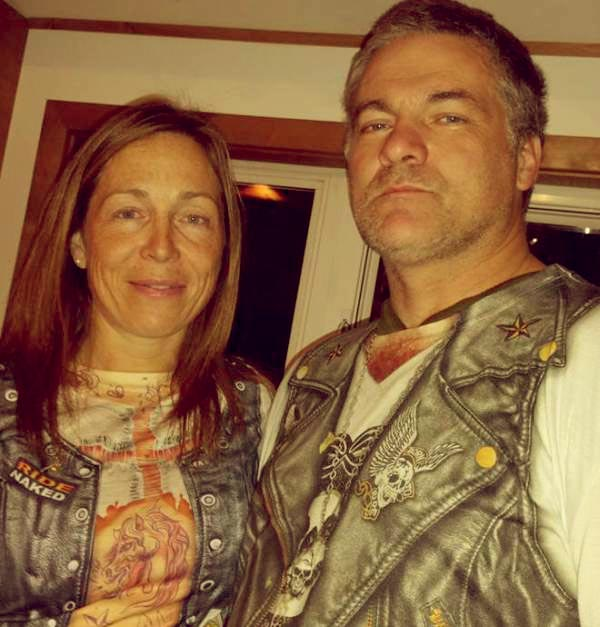 Image of Dr. Michelle Oakley with her husband, Shane Oakley