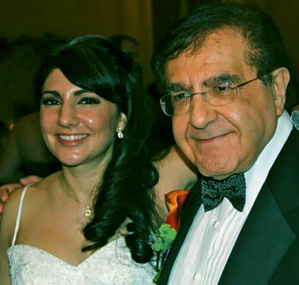 Image of Delores husband Younan with daughter Jennifer