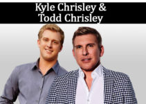 Image of Kyle Chrisley married life with wife & daughter. facts about Todd Chrisley's son