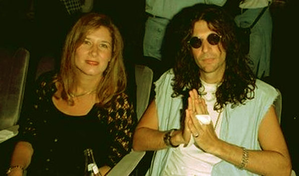 Image of Alison Berns and her ex-husband Howard Stern