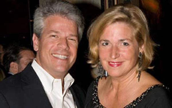 Image of Alison Berns and her husband, David Scott Simon