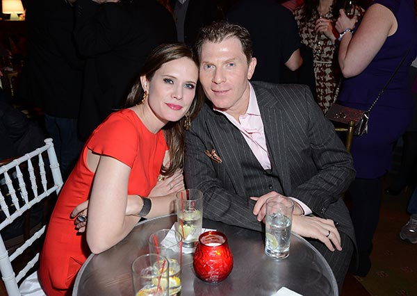 Image of Sophie Flay's parents, Kate Connelly and Bobby Flay