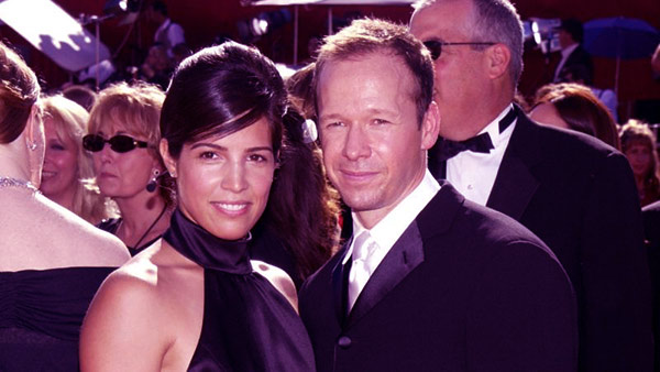 Image of Kimberly Fey with her ex-husband Donnie Wahlberg