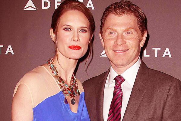 Image of Bobby Flay and his ex-wife, Kate Connelly