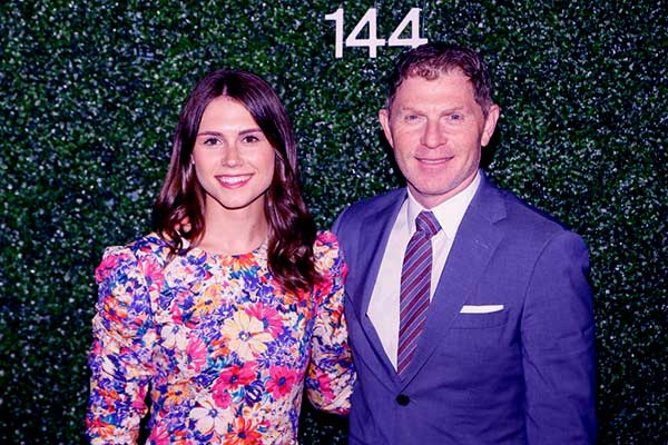 Image of Bobby Flay with his daughter, Sophie Flay
