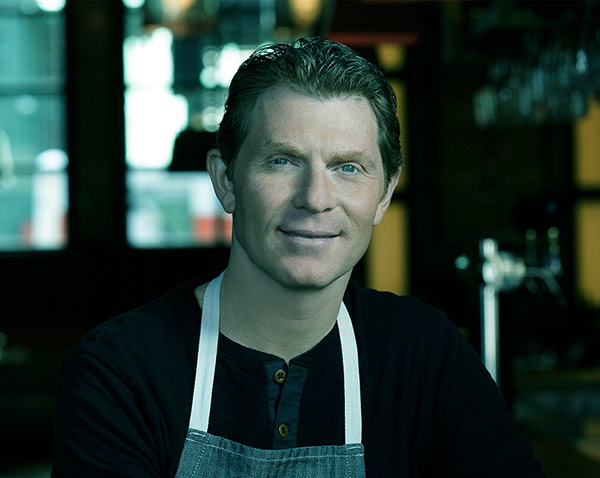 Image of Sophie Flay's celebrity father, Bobby Flay
