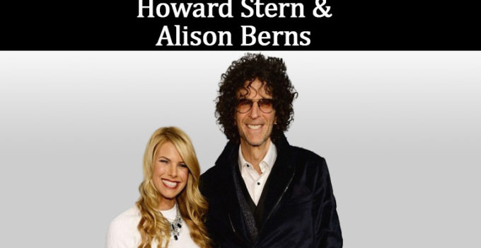 Image of Who is Howard Stern's ex-wife- Alison Berns. Her Children, Net Worth, Now