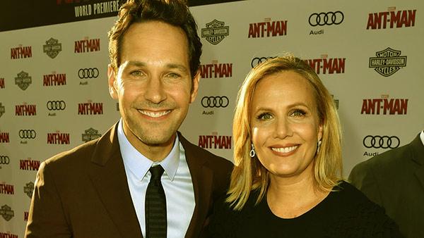 Image of Paul Rudd and Julie Yaegar