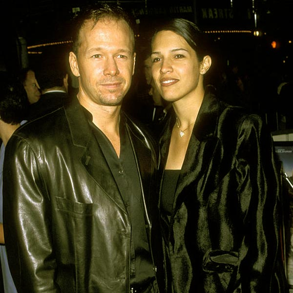 Image of Elijah Hendrix Wahlberg's parents Kimberly Fey and Donnie Wahlberg