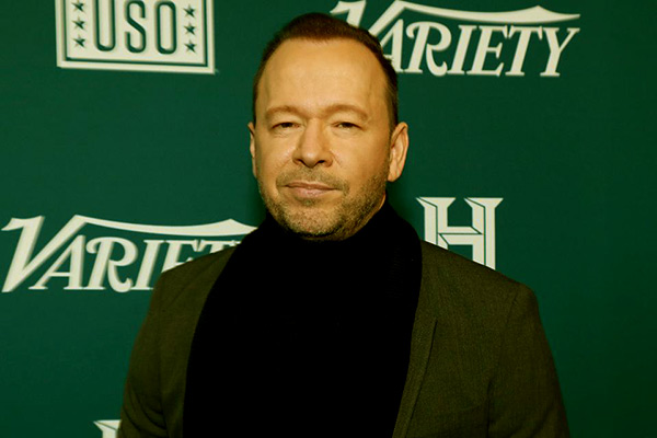 Image of Xavier Alexander Wahlberg's father, Donnie Wahlberg