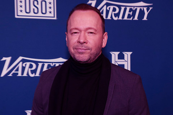 Image of Elijah Hendrix Wahlberg's father, Donnie Wahlberg